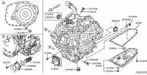 Nissan Pathfinder Seal O Ring  Cvt  Converter  Housing