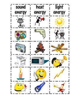 Energy sort by Teacher of Firsties | Teachers Pay Teachers