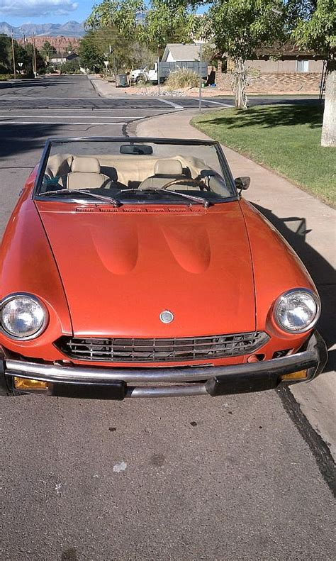 1978 Fiat Spider For Sale by 1978 Fiat Spider For Sale St George Utah