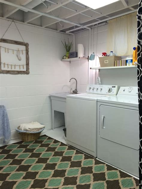 Unfinished Basement Laundry Room Ideas November 2018. Kitchen Wall Storage Racks. Small Kitchen Storage Solutions Ideas. Organizing Kitchens. Cooks Country Test Kitchen