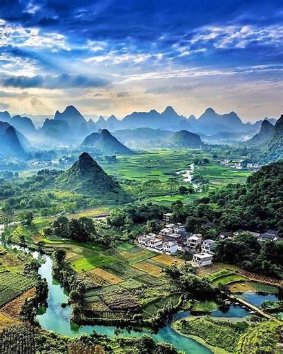 Nature China Vertical Wallpapers Yangshuo Instagram Someone