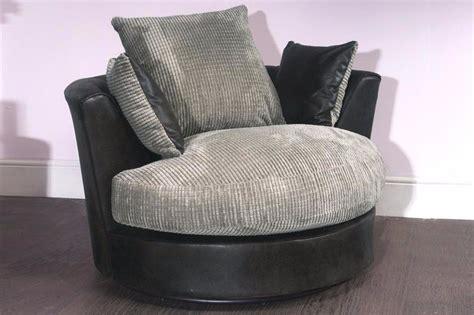 1 Seater Sofa Swivel Chair Armchair