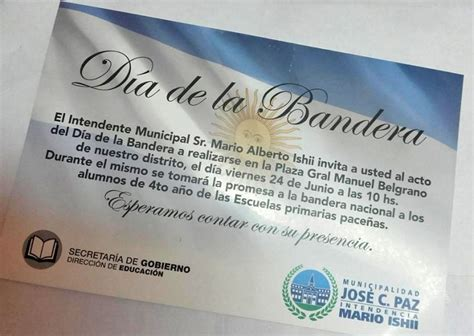 se conmemorar 193 el viernes 24 el d 205 a de la bandera en jos 201 c paz municipalidad de jos 233 c paz