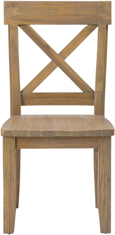 dining tables on boulder ridge x back side chair by paragon furniture 6719