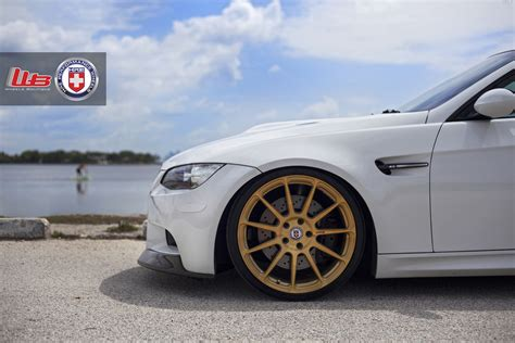 White Bmw Rims by Alpine White Bmw E92 M3 On Hre P43sc Wheels