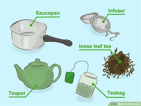 how to drink tea 15 steps with pictures wikihow