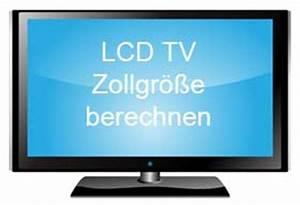 Tv Größe Berechnen : lcd fernseher gr e berechnen zollgr e umrechnen ~ Themetempest.com Abrechnung
