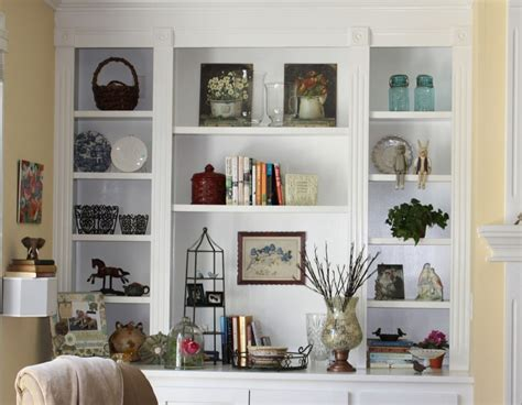 Living Room Shelf Designs