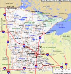 mn road map map of minnesota pictures map pictures