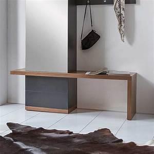 Garderoben Set Grau : garderobenset dalusia in granit grau nussbaum furniert ~ Markanthonyermac.com Haus und Dekorationen