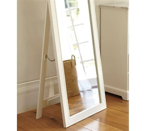 floor mirror barn classic floor mirror pottery barn