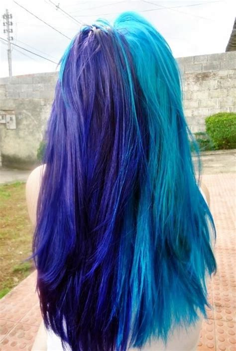 Dyed Blue Hair Hairstyles And Beauty Tips Hair