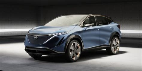 nissan ariya electric suv concept  destined  production