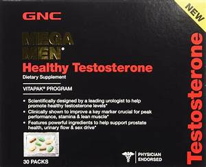 Gnc Mega Men Testosterone Booster Review - Muscle - Strength