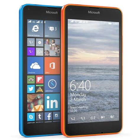 lumia 640 is now on sale via at t gophone cheap phones