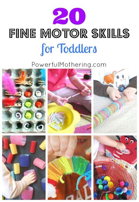 20 motor skills for toddlers 535 | 20 Fine Motor Skills for Toddlers 2