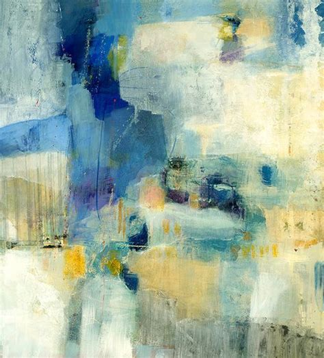 Articulation Yellow And Blue Abstract Wall Art