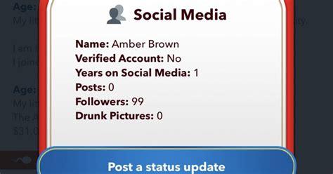 bitlife drunk social followers