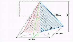 Katheten Berechnen : zahlreich mathematik hausaufgabenhilfe volumen von pyramiden ~ Themetempest.com Abrechnung
