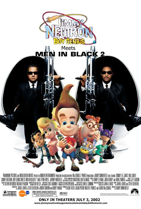 jimmy neutron boy genius meets men  black ii idea