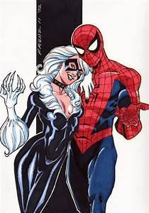 Black Cat & Spider-Man, in Bill Wasson Jr.'s Ron Frenz ...