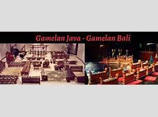 Javanese and Balinese Gamelan Ensembles – The University