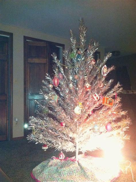 aluminum vintage christmas tree antique vintage