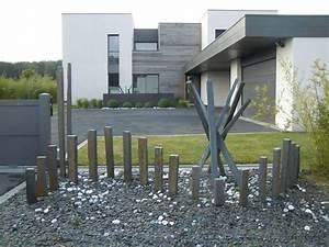 Prix Ardoise Deco Jardin : exquisit ardoise jardin palis et piquets d infercoa pour ~ Premium-room.com Idées de Décoration