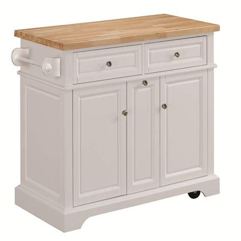 shop tresanti summerville white adjustable kitchen cart
