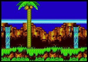 Background HQ Sonic The Hedgehog 3 Angel Island Zone