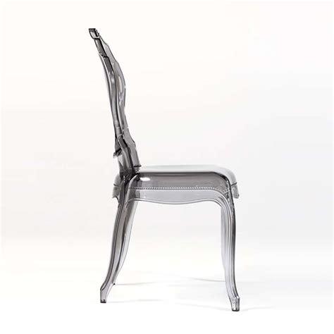 chaise en polycarbonate chaise design en polycarbonate style régence époque 4 pieds tables chaises et