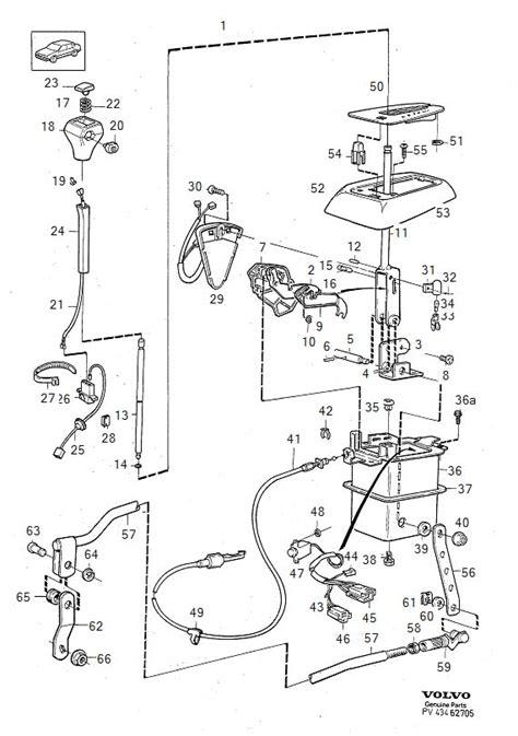 Shift Lock Volvo 850 Wiring Diagram by 240 A T Shift Assy 1993 240 R Retrofit Turbobricks Forums