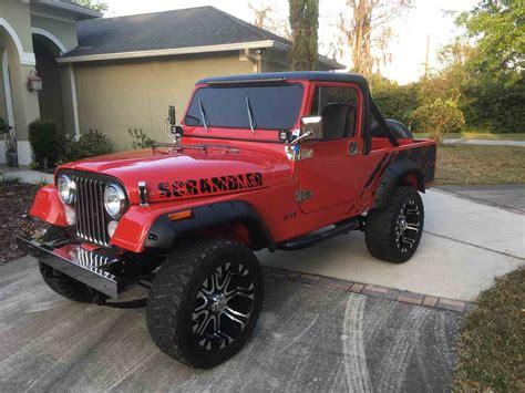 cj8 jeep 1983 jeep cj8 scrambler for sale classiccars com cc 972177