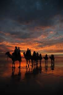 Sunset On Cable Beach Western Australia