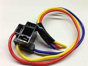 H4 3 Pin Headlight Replacement Repair Bulb Holder