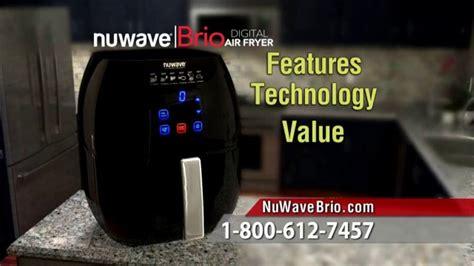 nuwave brio digital air fryer tv commercial  love fried food ispottv