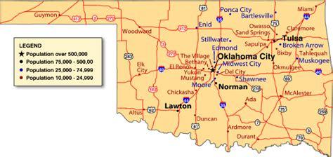Major Cities - OKLAHOMA