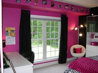 Hot Pink And Black Zebra Bedroom!  Design Dazzle
