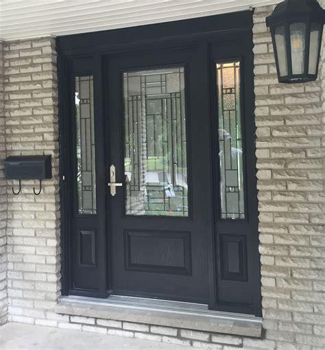 fiberglass door  sidelights heritage renovations