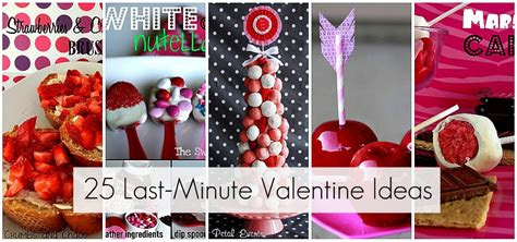 minute valentine ideas