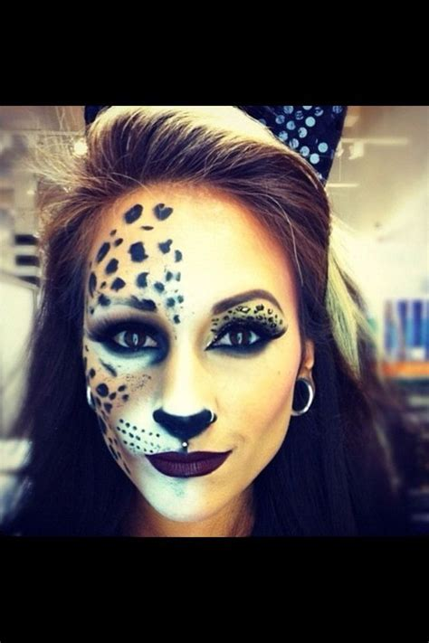 leopard make up tiger makeup makeup