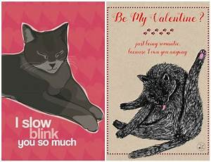 Valentine's Day Cat Greeting Cards - The Conscious Cat