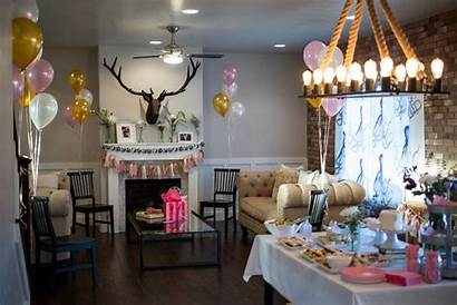 Bridal Shower Party Gold Pink Decor Decorations