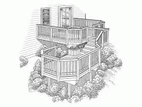 ranch style house plans with porch deck plans deck design plans at eplans floor plans