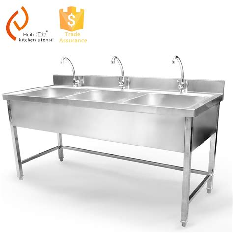 triple stainless steel sink stainless steel triple bowl kitchen sink buy stainless