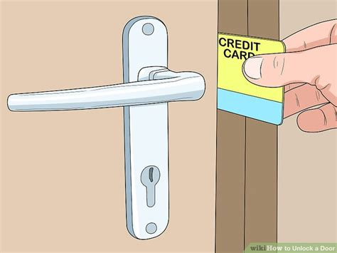 how to unlock a house door without a key how to unlock a door 11 steps with pictures wikihow