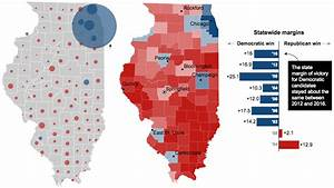 Illinois presidential vote results, by county - LA Times