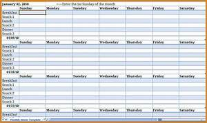 Monthly schedule template notary letter for Monthly meeting schedule template