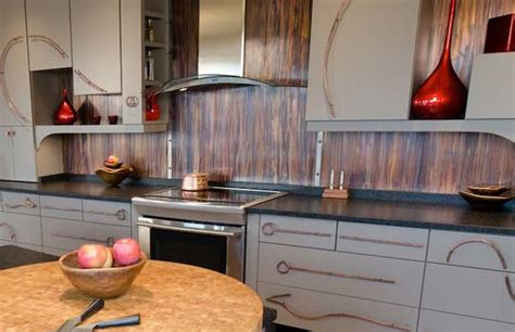 Cheap Backsplashes : Top 30 Creative And Unique Kitchen Backsplash Ideas