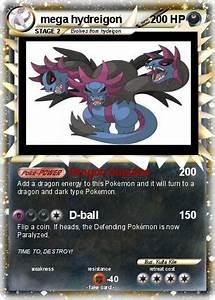 Pokémon mega hydreigon 8 8 - Dragon Impulse - My Pokemon Card